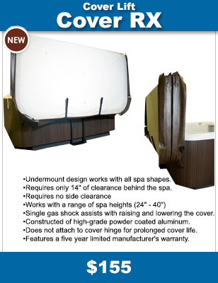 Add Cover RX - Hot Tub Cover Lift